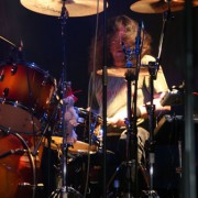 Jan Nielsen on the drums